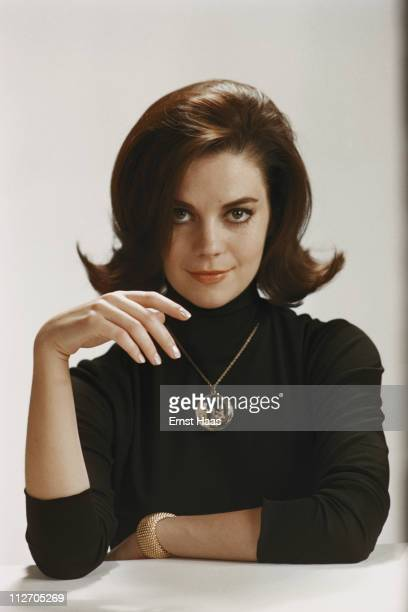 American actress Natalie Wood star of the musical film 'West Side Story' January 1961