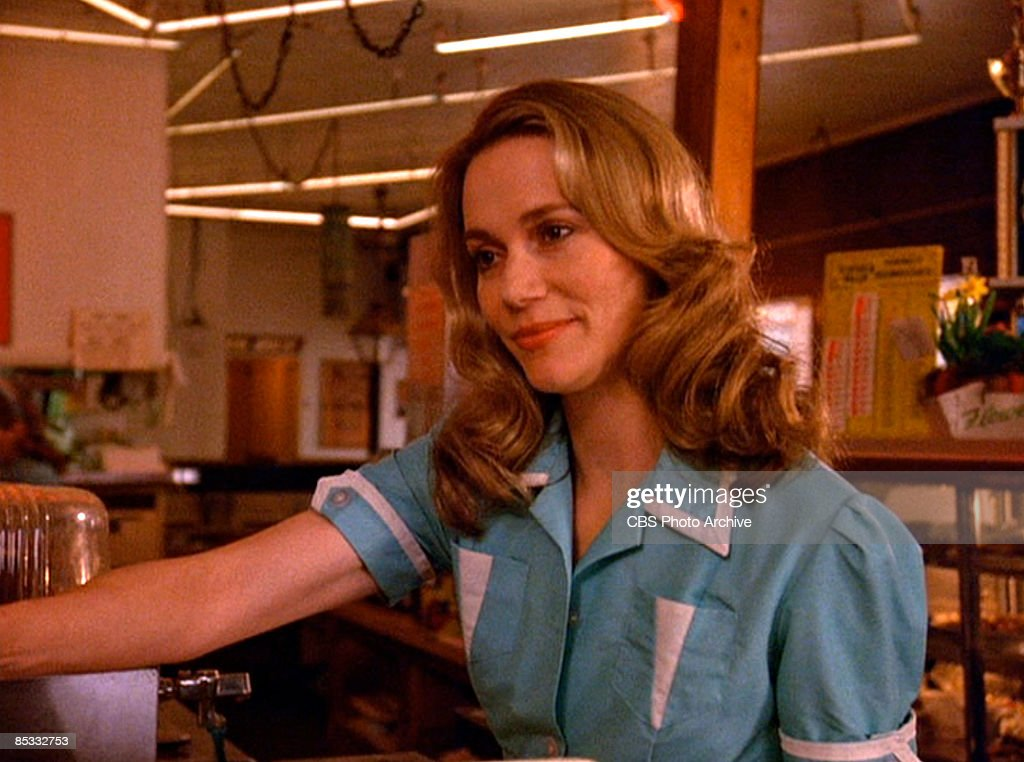 American actress Peggy Lipton (as Norma Jennings) in a scene from the pilot episode of the television series 'Twin Peaks,' originally broadcast on April 8, 1990.