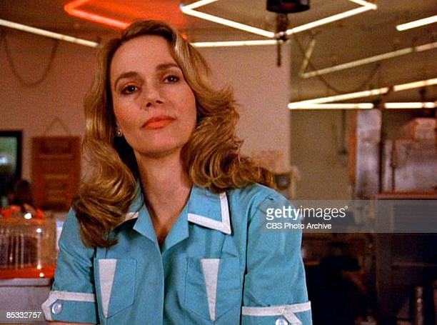 American actress Peggy Lipton in a still from the pilot episode of the television series 'Twin Peaks' originally broadcast on April 8 1990