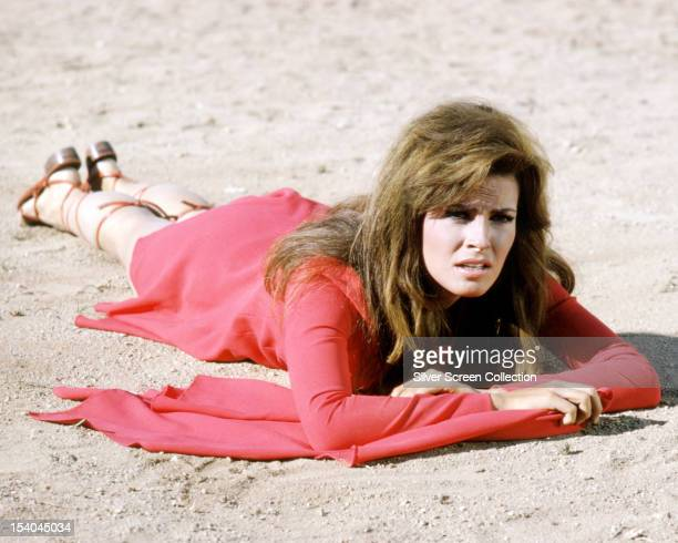 American actress Raquel Welch as Fathom Harvill in 'Fathom' directed by Leslie H Martinson 1967