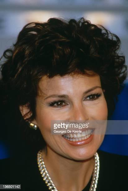 American actress Raquel Welch circa 1985