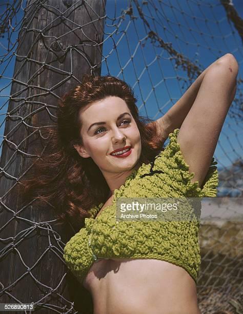 American actress Rhonda Fleming circa 1950