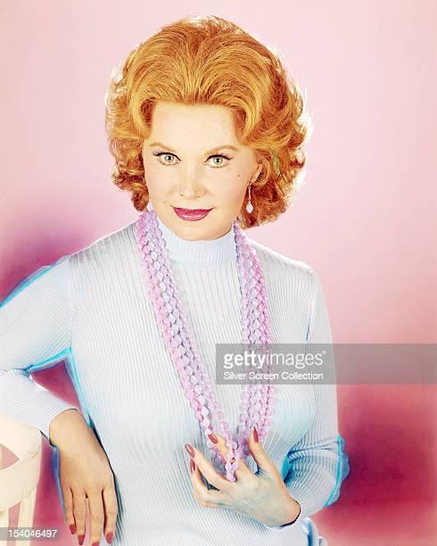 American actress Rhonda Fleming circa 1970