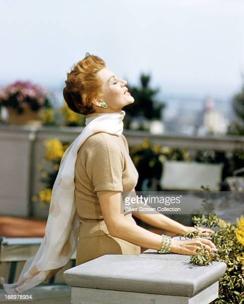 American actress Rita Hayworth as Vera Simpson in 'Pal Joey' directed by George Sidney 1957