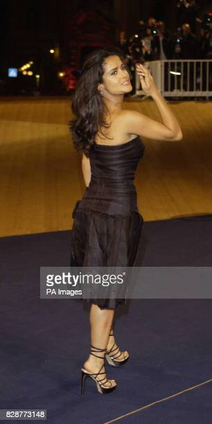 American actress Salma Hayek arrives at the Palazzo del Cinema Lido Venice Thursday August 28 for a special screening of her new film 'Once upon a...