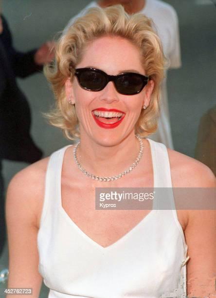 American actress Sharon Stone circa 1995