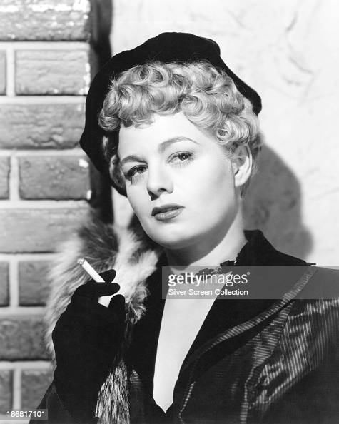 American actress Shelley Winters as Terry Stewart in 'Johnny Stool Pigeon' directed by William Castle 1949
