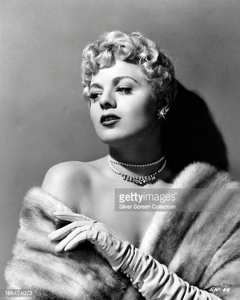 American actress Shelley Winters circa 1950
