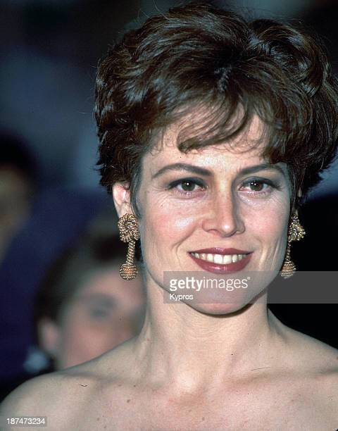 American actress Sigourney Weaver circa 1990