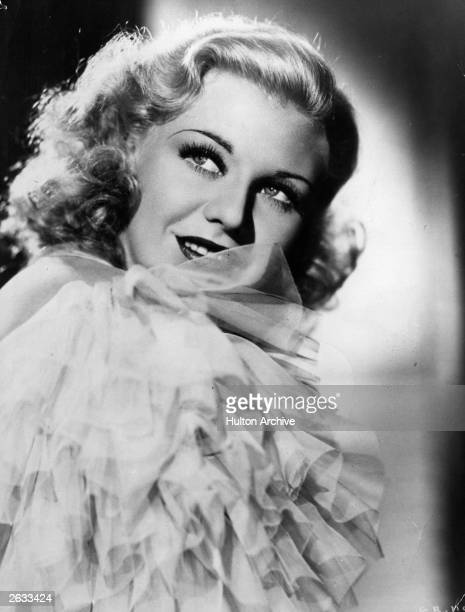 American actress singer and dancer Ginger Rogers
