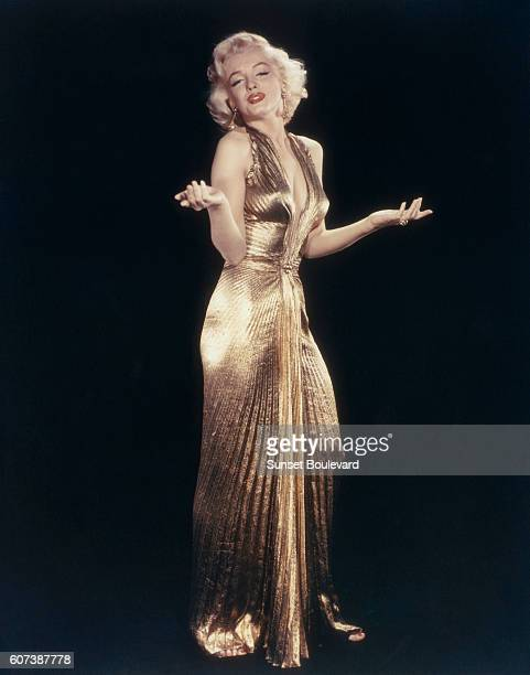 American actress singer model and sex symbol Marilyn Monroe