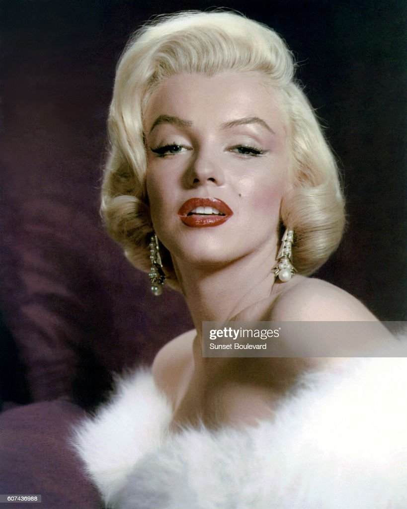 American actress, singer, model and sex symbol Marilyn Monroe.