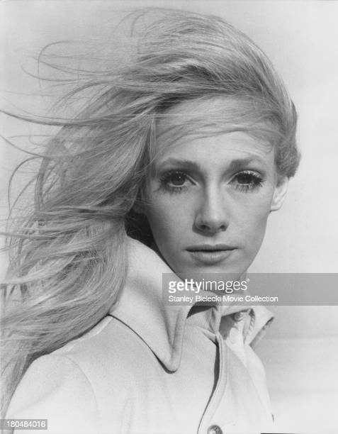 Promotional shot of actress Sondra Locke as she appears in the movie 'Cover Me Babe' or 'Run Shadow Run' 1970