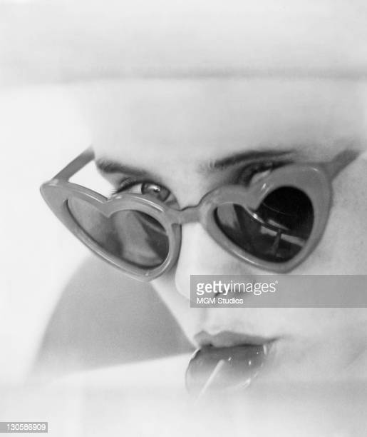 American actress Sue Lyon as Dolores 'Lolita' Haze in a scene from 'Lolita' directed by Stanley Kubrick 1962