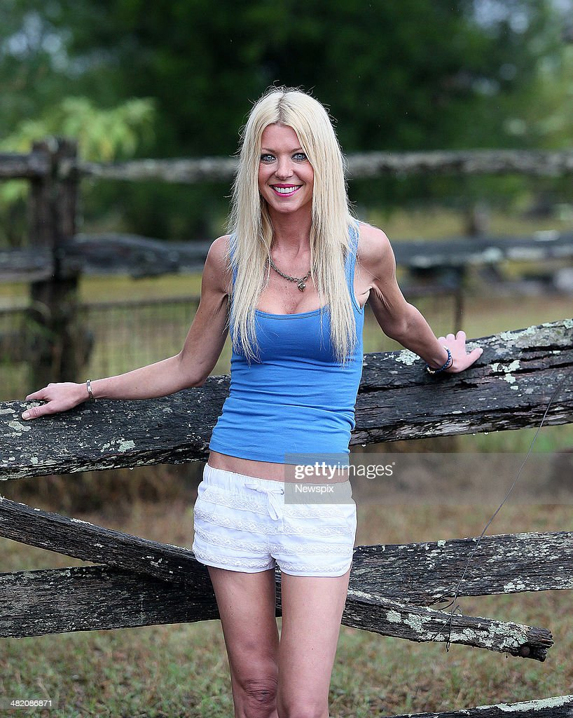 American actress <a gi-track='captionPersonalityLinkClicked' href=/galleries/search?phrase=Tara+Reid&family=editorial&specificpeople=202160 ng-click='$event.stopPropagation()'>Tara Reid</a> poses on the set of horror film 'Charlie's Farm' in a secret location on March 26, 2014 on the Sunshine Coast, Australia.