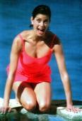 American actress Teri Hatcher circa 1990