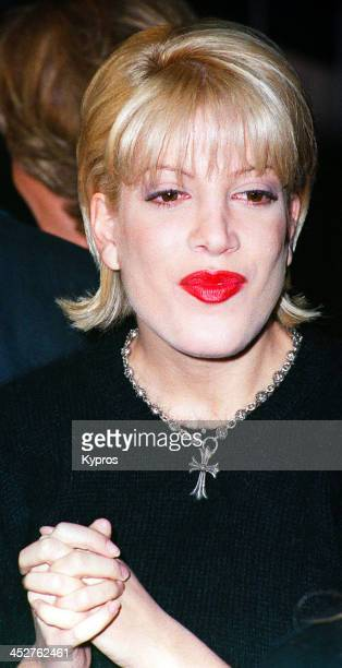 American actress Tori Spelling circa 1992