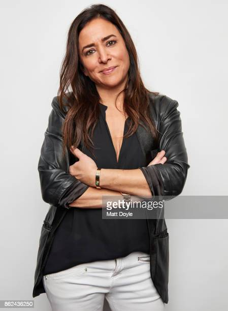 American actress voice actress screenwriter producer and director Pamela Adlon poses for a portrait at the Tribeca TV festival at Cinepolis Chelsea...