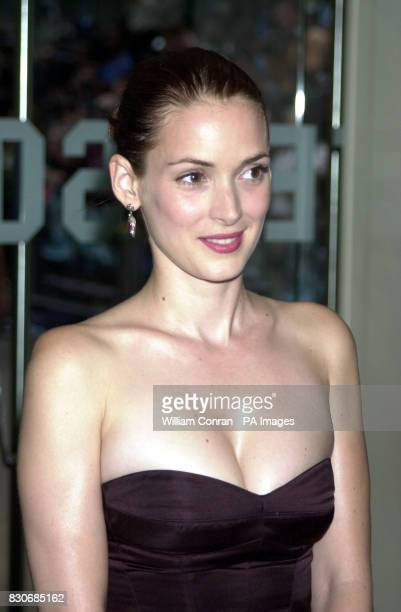 American Actress Winona Ryder arrives for the premiere of Planet Of The Apes at the Odeon Leicester Square in London * 28/10/02 Prosecutors were...