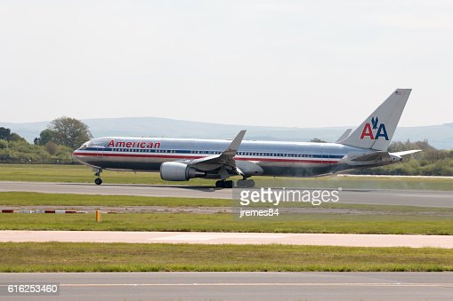 American Airlines A330 : Foto de stock
