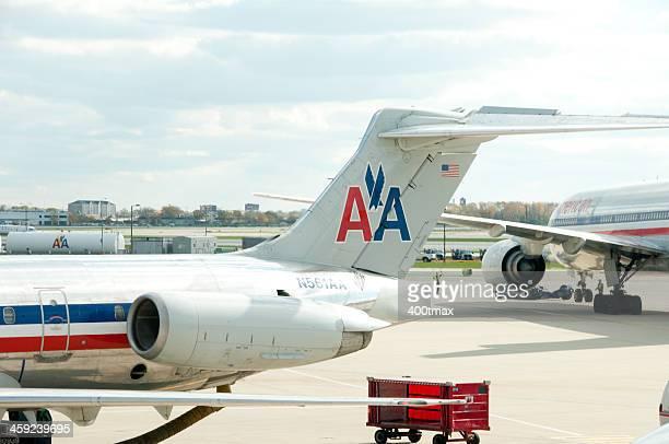 Les avions d'American Airlines