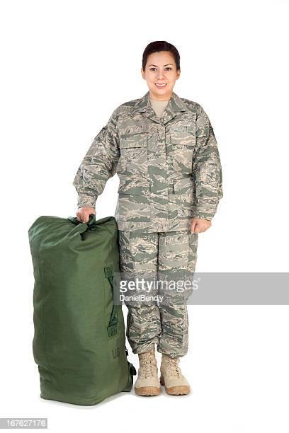 American Airwoman retrato