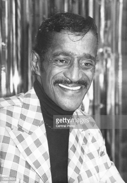 American all round entertainer Sammy Davis Jnr who sings dances and tells jokes Davis is a member of Frank Sinatra's 'ratpack'