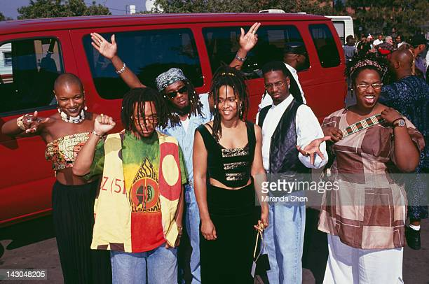 American alternative hip hop group Arrested Development 1993