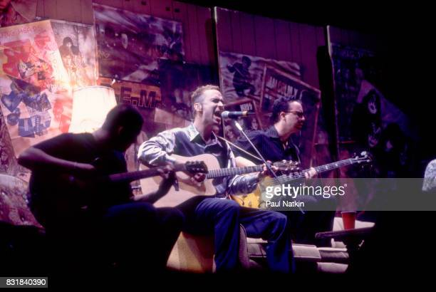 American alternative rock band Live performs at the World Music Theater in Tinley Park Illinois August 4 1995