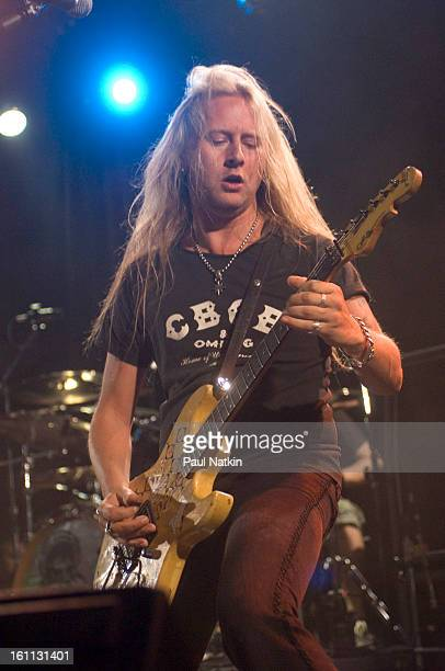 American alternative rock group Alice In Chains perform at Metro Chicago Illinois May 21 2006 Pictured is guitarist Jerry Cantrell