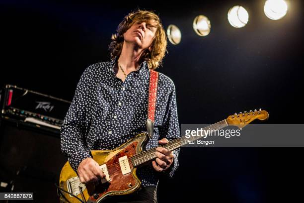 American alternative rock guitarist Thurston Moore performs at Best Kept Secret festivalHilvarenbeek Netherlands 17th June 2017 Moore was cofounder...