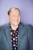 American animator film director screenwriter producer and the chief creative officer of Pixar Animation Studios John Lasseter poses for a portrait at...