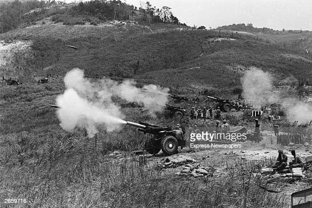 American army action against the Vietcong on Hill Timothy