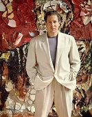 American artist and filmmaker Julian Schnabel New York May 1986