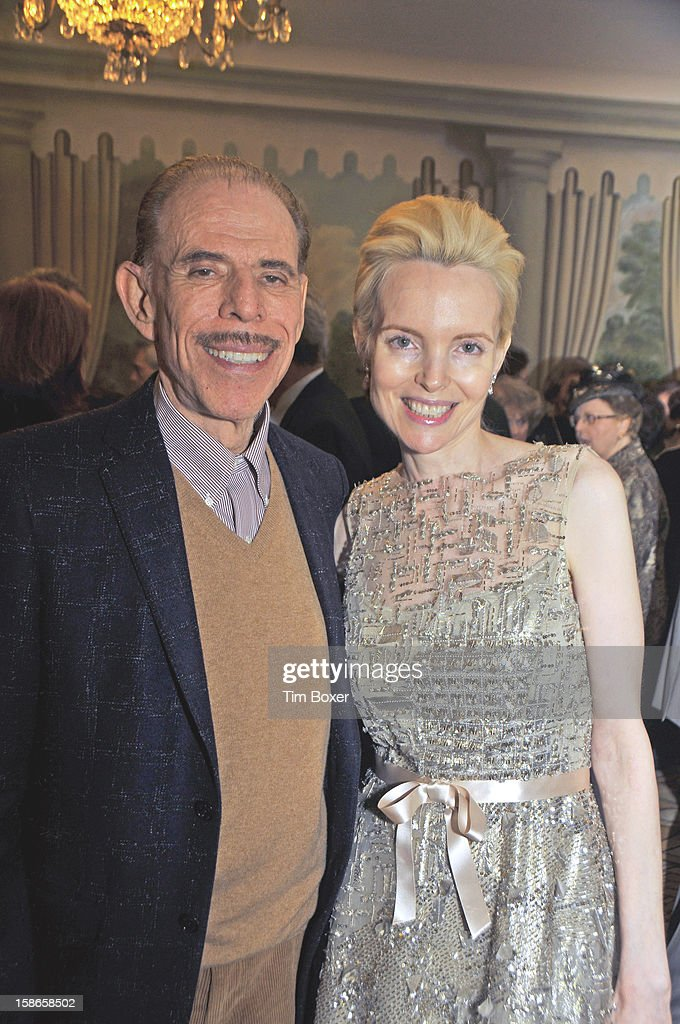American artist and graphic designer <a gi-track='captionPersonalityLinkClicked' href=/galleries/search?phrase=Peter+Max&family=editorial&specificpeople=228386 ng-click='$event.stopPropagation()'>Peter Max</a> and wife Mary attend a gala of the Israel Cancer Research Fund (where they were the guests of honor) at the Pierre Hotel, New York, New York, December 3, 2012.