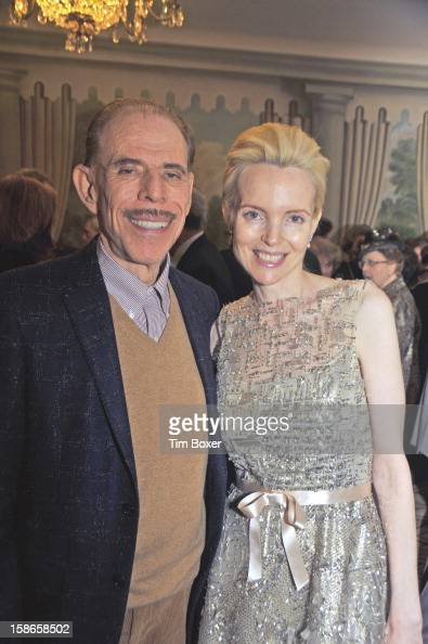 American artist and graphic designer Peter Max and wife Mary attend a gala of the Israel Cancer Research Fund at the Pierre Hotel New York New York...
