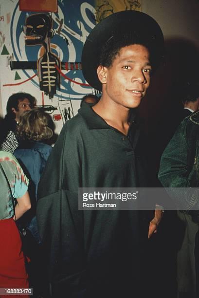 American artist JeanMichel Basquiat circa 1985