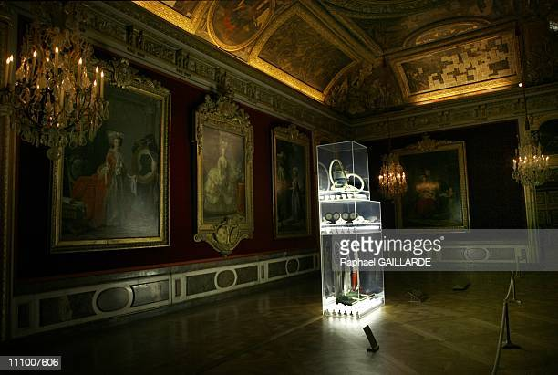 American artist Jeff Koons exhibition in the Chateau de Versailles in France on September 09th 2008 Jeff Koons in Versailles New Hoover Convertibles...
