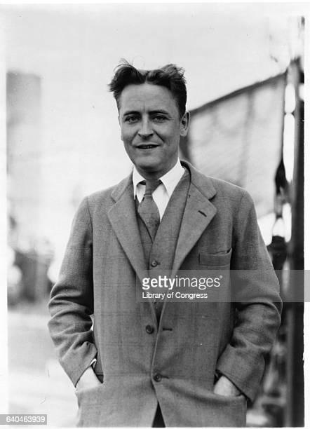 American Author Francis Scott Fitzgerald
