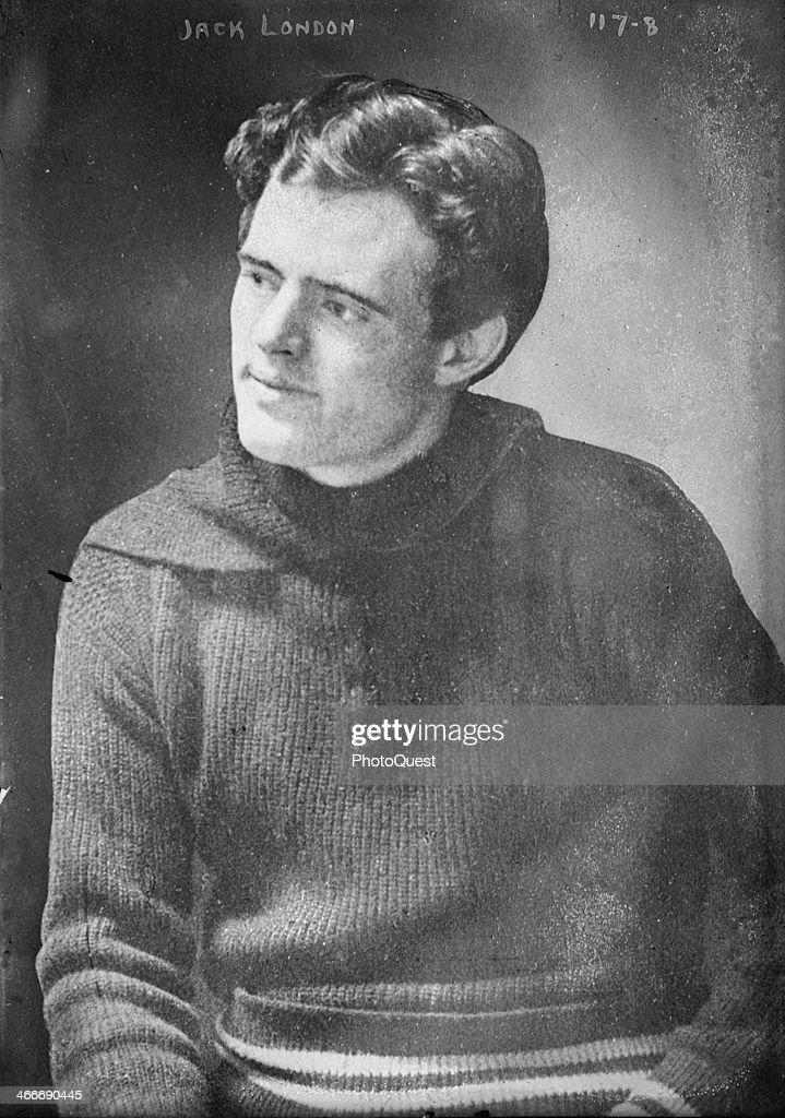 American author Jack London 1900s