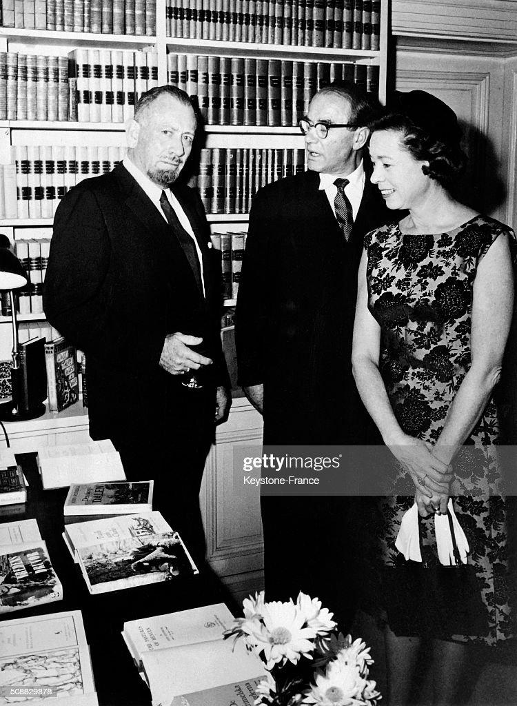 a biography of john steinbeck the american nobel laureate writer Famed novelist john ernst steinbeck jr was born on february 27, 1902, in  salinas, california  john steinbeck - nobel prize author | mini bio | bio info.
