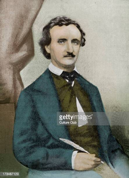 Edgar Allan Poe In 1849 American author poet 19 January 1809 7 October 1849