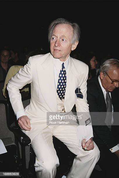 American author Tom Wolfe circa 2000