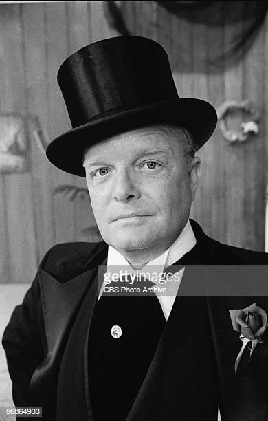 American author Truman Capote wears a top hat and wing collar with a cravat for a skit during his appearance on the 'Sonny and Cher Comedy Hour'...
