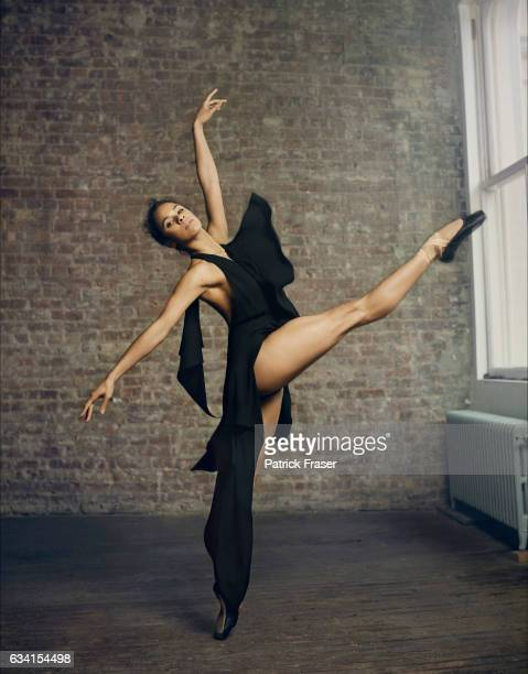 American ballet dancer for American Ballet Theatre Misty Copeland is photographed for Vanity Fair Magazine on May 4 2015 in New York City PUBLISHED...