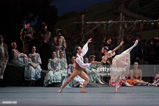 American Ballet Theater performing 'Giselle' at Metropolitan Opera House on Saturday night May 23 2015This imageCraig Salstein and Misty Copeland