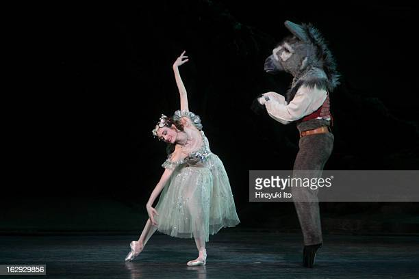 American Ballet Theater performing 'The Dream' at the Metropolitan Opera House on Saturday night May 26 2007This imageJulie Kent as Titania and Isaac...
