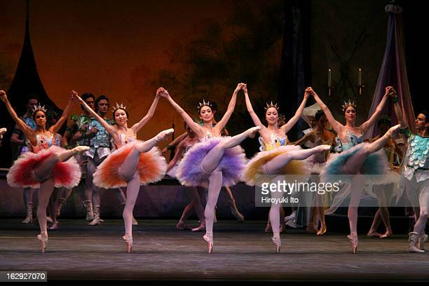 American Ballet Theater performing 'The Sleeping Beauty' at the Metropolitan Opera House on Wednesday night June 6 2007This imageThe Lilac Fairy...