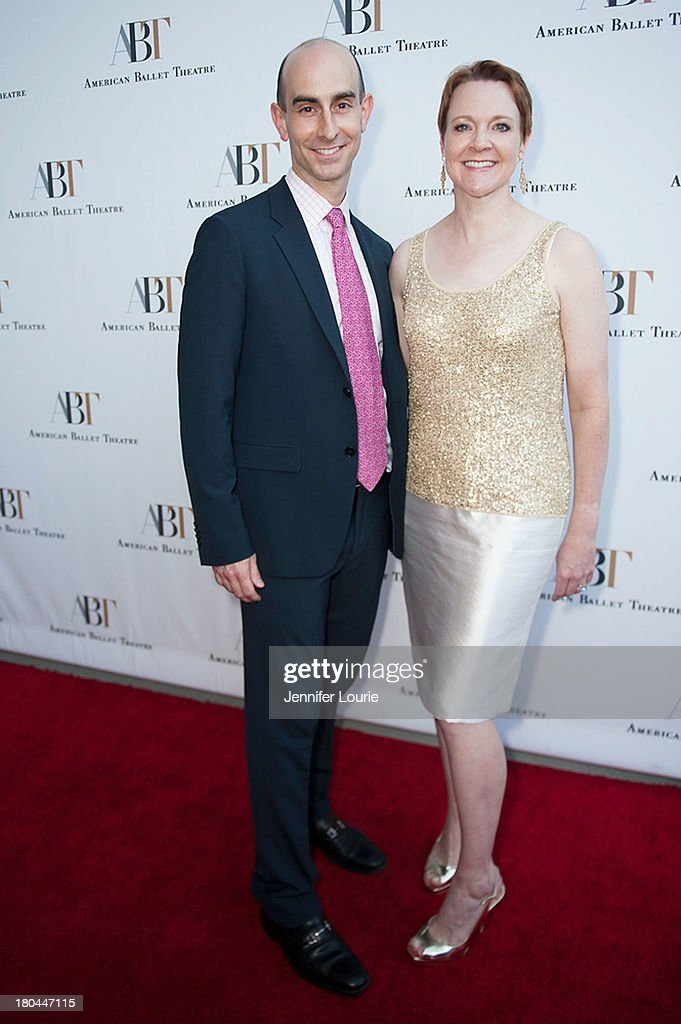 American Ballet Theatre director of development Kyle Rideout and CEO Rachel Moore arrive at the American Ballet Theatre's Annual Fundraiser 'Stars Under the Stars: An Evening in Los Angeles' at private residence on September 12, 2013 in Beverly Hills, California.