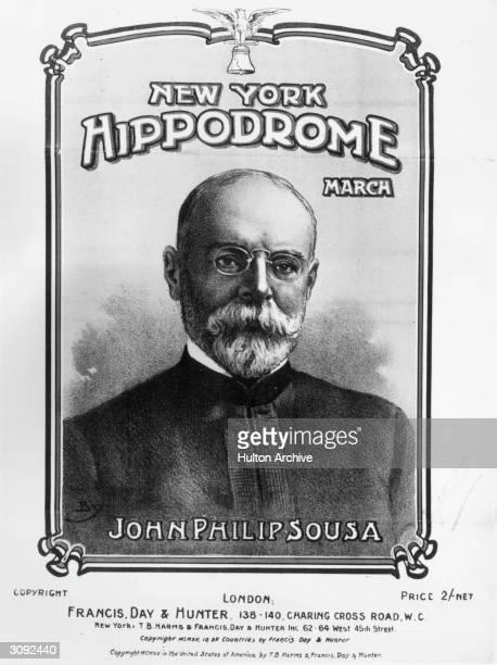American bandmaster and composer John Philip Sousa